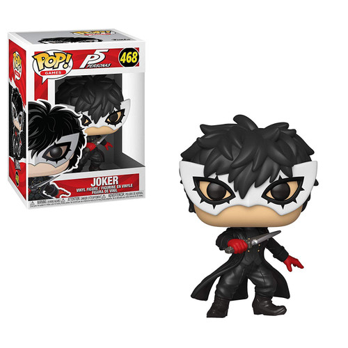 Funko Persona 5 POP! Video Games The Joker Vinyl Figure #468 [Wearing Mask, Regular Version]