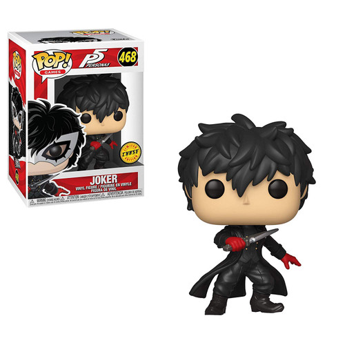 Funko Persona 5 POP! Video Games The Joker Vinyl Figure #468 [No Mask, Chase Version]