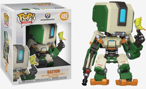 Funko Overwatch POP! Games Bastion 6-Inch Vinyl Figure #489 [Super-Sized]