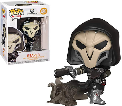 Funko Overwatch POP! Games Reaper Vinyl Figure #493 [Holding Guns, Wraith]