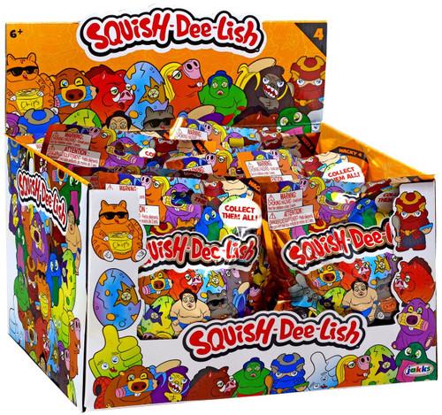 Squish-Dee-Lish Wacky Series 4 Mystery Box [12 Packs]