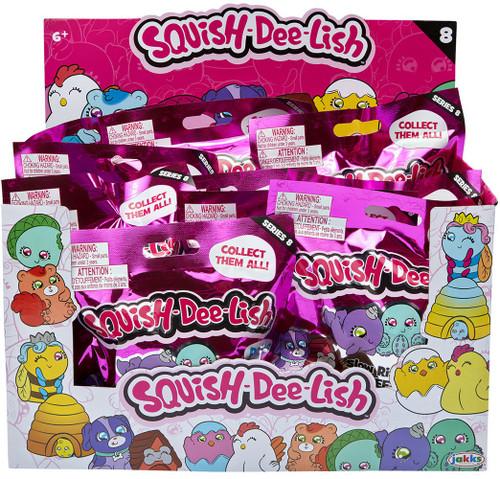 Squish-Dee-Lish Series 8 Mystery Box [12 Packs]