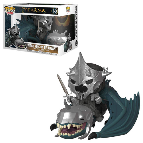 Funko Lord of the Rings POP! Rides Witch King with Fellbeast Vinyl Figures #63