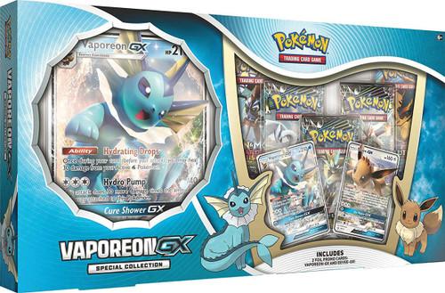 Pokemon Trading Card Game Sun & Moon Vaporeon GX Special Collection
