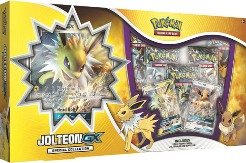 Pokemon Trading Card Game Jolteon GX Special Collection Box