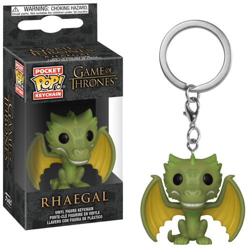 Funko Game of Thrones Pocket POP! Rhaegal Keychain