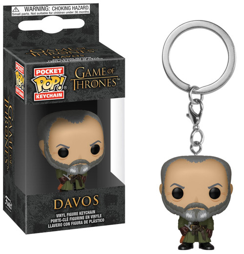 Funko Game of Thrones Pocket POP! Davos Keychain