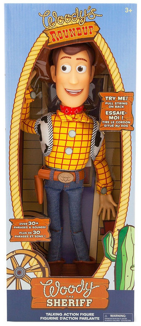 Disney Toy Story Woody Exclusive Talking Action Figure [2019, 30+ Phrases & Sounds]