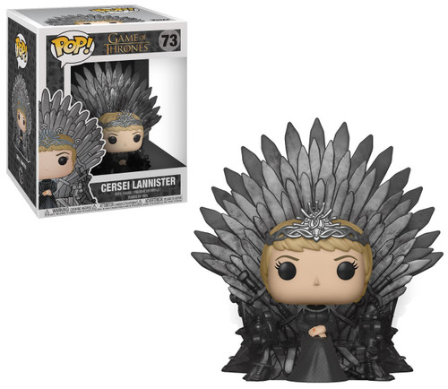 Funko Game of Thrones POP! TV Cersei Lannister Deluxe Vinyl Figure #73 [Sitting On Iron Throne]