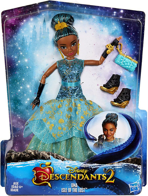 Disney Descendants Royal Yacht Ball Uma Deluxe Doll [Damaged Package]