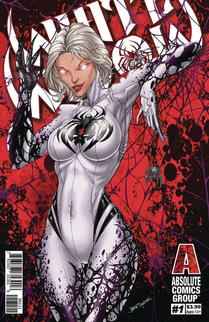 Absolute Comics Group White Widow #1 Comic Book [Red Foil Variant]