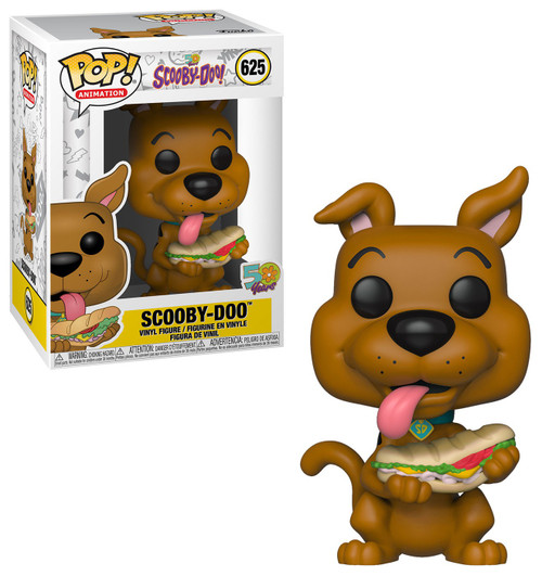 Funko POP! Animation Scooby Doo Vinyl Figure #625 [with Sandwich]