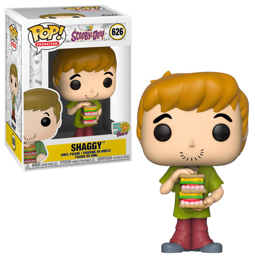 Funko Scooby Doo POP! Animation Shaggy Vinyl Figure #626 [with Sandwich]