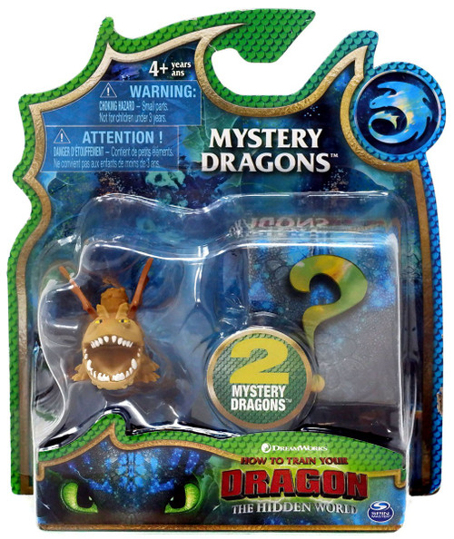 How to Train Your Dragon The Hidden World Mystery Dragons Gronckle (Meatlug) Mystery 2-Pack