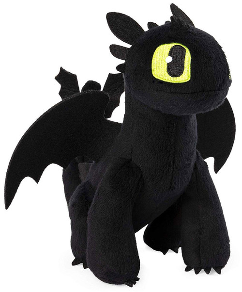 How to Train Your Dragon The Hidden World Toothless 8-Inch Plush