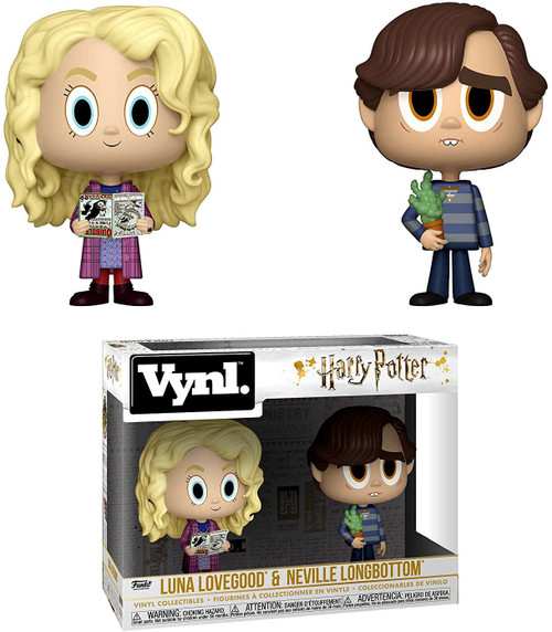 Funko Harry Potter Vynl. Luna Lovegood & Neville Longbottom Vinyl Figure 2-Pack