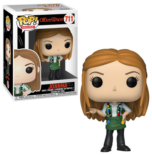 Funko Office Space POP! Movies Joanna with Flair Vinyl Figure #711