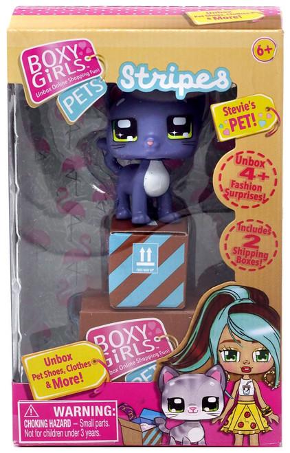 Boxy Girls Pets Stripes Mini Doll