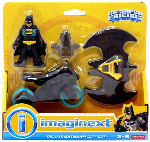 Fisher Price DC Super Friends Imaginext Batman Gift Set Figure Set