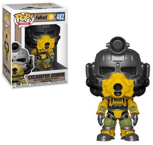 Funko Fallout 76 POP! Games Excavator Armor Vinyl Figure #482