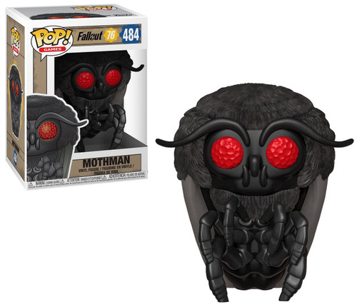 Funko Fallout 76 POP! Games Mothman Vinyl Figure #484