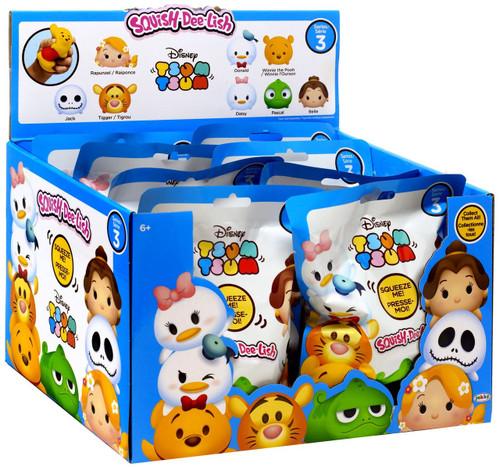 Disney Squish-Dee-Lish Tsum Tsum Series 3 Mystery Box [12 Packs]