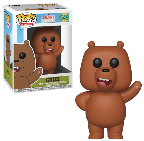 Funko We Bare Bears POP! Animation Grizz Vinyl Figure #549