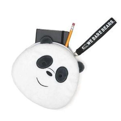 We Bare Bears Panda 7-Inch Plush Zippered Pouch