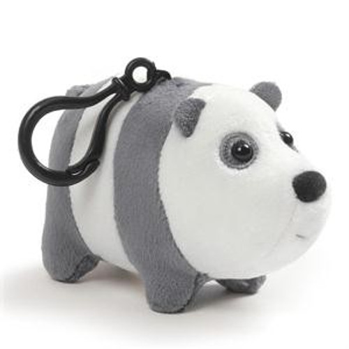 We Bare Bears Panda 2.5-Inch Plush Backpack Clip