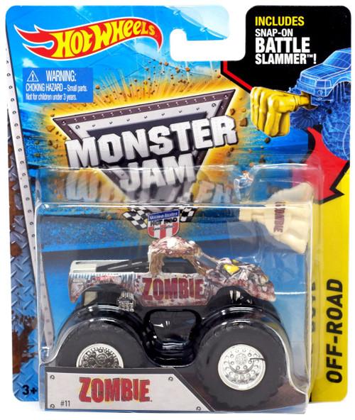 Hot Wheels Monster Jam Zombie Die-Cast Car [Battle Slammer]