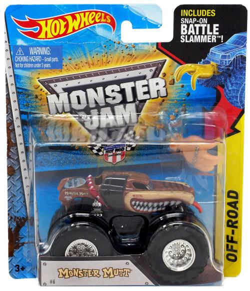 Hot Wheels Monster Jam Monster Mutt Die-Cast Car [Battle Slammer]