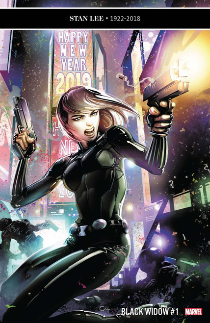 Marvel Comics Black Widow #1 Comic Book