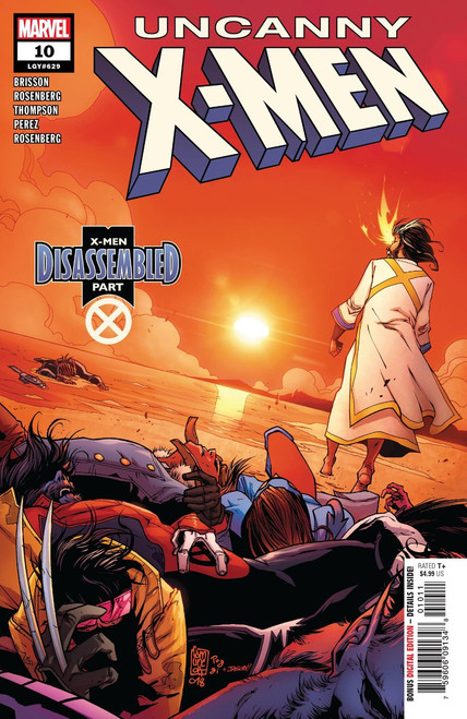 Marvel Comics Uncanny X-Men #10 Comic Book