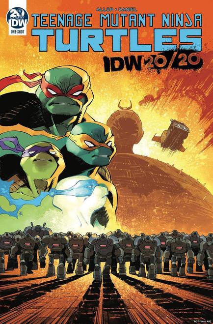 Teenage Mutant Ninja Turtles IDW 20/20 One Shot Comic Book
