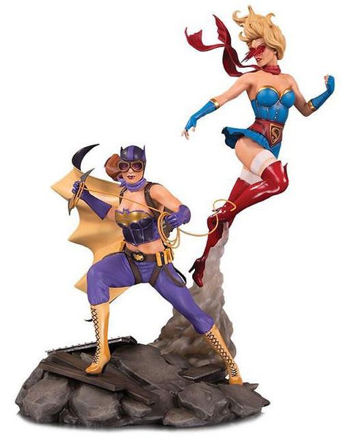 DC Bombshells Celebration 15-Inch Statue [Batgirl & Supergirl]