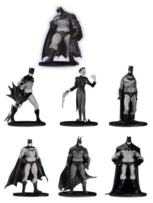 Black & White Batman Set 3 3.75-Inch Mini Statue Box [7 Statues!]