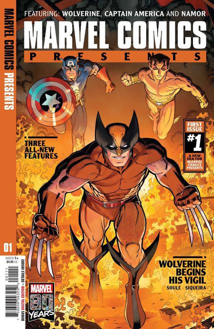 Marvel Comics Presents #1 Comic Book