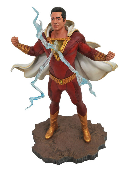 DC Gallery Shazam 9-Inch Collectible PVC Statue [Movie Version]