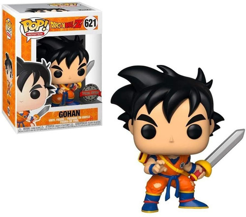 Funko Dragon Ball Z POP! Animation Young Gohan Exclusive Vinyl Figure #621 [with Sword]
