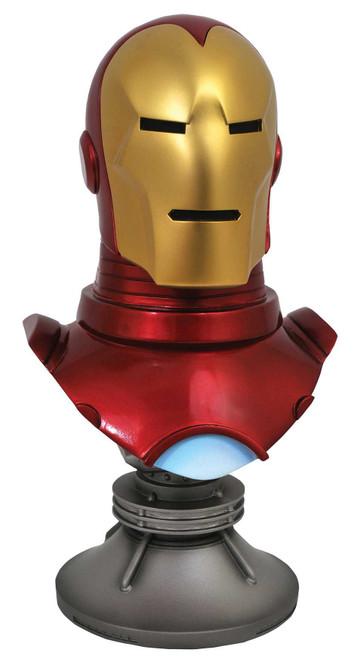 Marvel Legendary Comic Iron Man Half-Scale Bust [1/2 Scale]