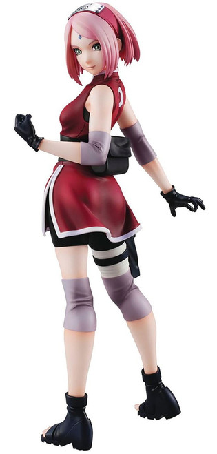 Naruto Shippuden Naruto Gals Sakura Haruno 8-Inch Collectible PVC Figure [Version 2]