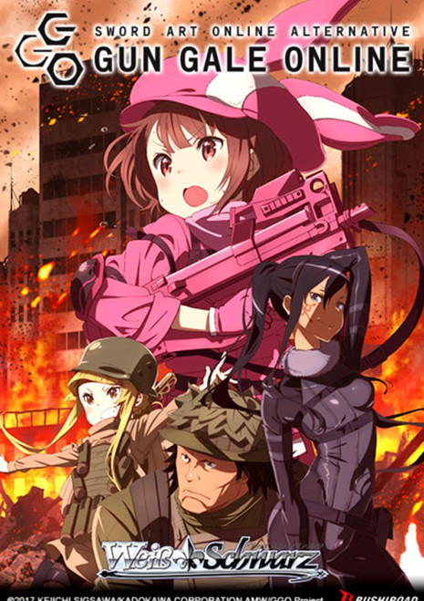 Weiss Schwarz Sword Art Online Alternative Gun Gale Online Booster Box [20 Packs]