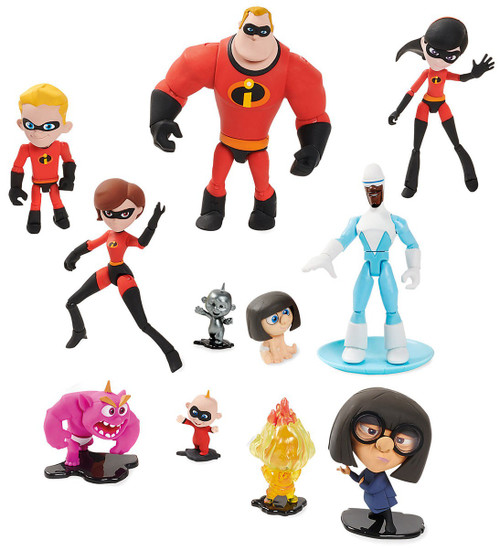 Disney / Pixar Toybox Incredibles 2 Exclusive Action Figure Set