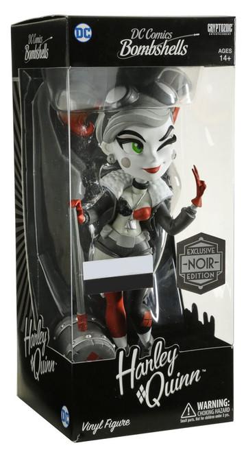 DC Bombshells Harley Quinn Exclusive Vinyl Figure [Noir Edition]
