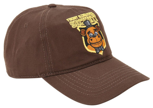Five Nights at Freddy's Freddy Fazbear's Pizza Security Exclusive Snapback Cap