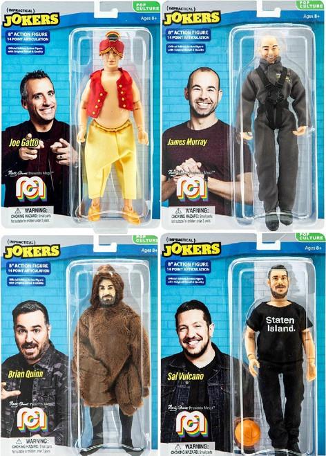 Impractical Jokers Pop Culture Joe, James, Sal & Brian Set of 4 Action Figures