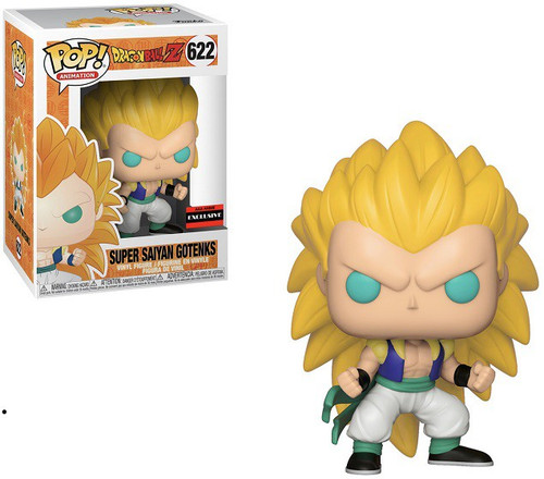 Funko Dragon Ball Z POP! Animation Super Sayian 3 Gotenks Exclusive Vinyl Figure