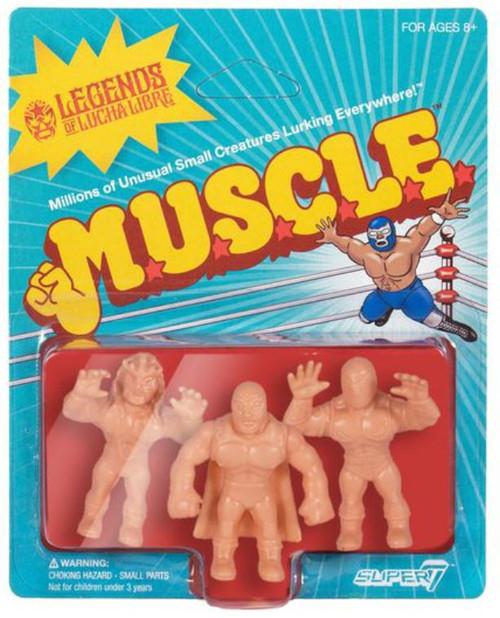 ReAction Legends of Lucha Libre Juventud Guerrera, Blue Demon Jr. & Tinieblas Jr. Action Figure [Suit]
