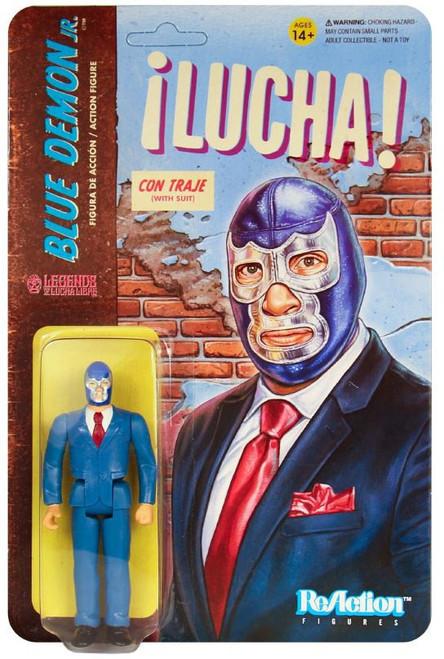 ReAction Legends of Lucha Libre Blue Demon Jr. Action Figure [Suit]