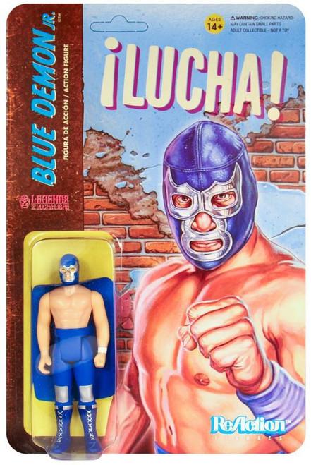 ReAction Legends of Lucha Libre Blue Demon Jr. Action Figure